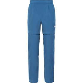 The North Face Inlux Pantalones convertibles Mujer, blue wing teal
